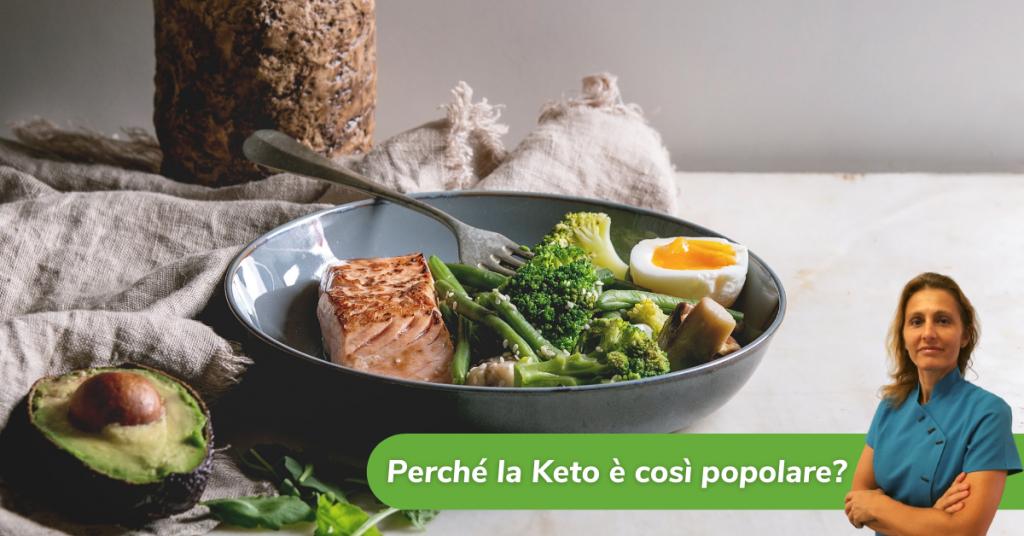dieta chetogenica perché è popolare